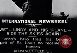 Image of Charles Lindbergh New York United States USA, 1927, second 8 stock footage video 65675031420