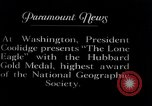Image of Charles Lindbergh Washington DC USA, 1927, second 6 stock footage video 65675031421