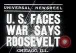 Image of Franklin Roosevelt addresses city of Chicago Chicago Illinois USA, 1937, second 6 stock footage video 65675031439