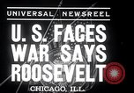 Image of Franklin Roosevelt addresses city of Chicago Chicago Illinois USA, 1937, second 7 stock footage video 65675031439