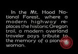 Image of Mount Hood National Forest Oregon United States USA, 1929, second 1 stock footage video 65675031473