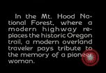 Image of Mount Hood National Forest Oregon United States USA, 1929, second 2 stock footage video 65675031473