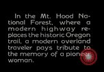Image of Mount Hood National Forest Oregon United States USA, 1929, second 6 stock footage video 65675031473