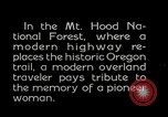 Image of Mount Hood National Forest Oregon United States USA, 1929, second 11 stock footage video 65675031473