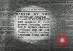 Image of housing facilities United States USA, 1936, second 6 stock footage video 65675031480