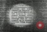 Image of housing facilities United States USA, 1936, second 10 stock footage video 65675031480