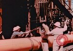 Image of Construction of Liberty Ships Sausalito California USA, 1944, second 1 stock footage video 65675031501