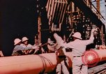Image of Construction of Liberty Ships Sausalito California USA, 1944, second 2 stock footage video 65675031501