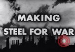 Image of making of steel United States USA, 1943, second 4 stock footage video 65675031503