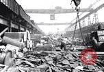 Image of Recycling scrap in Steelmaking United States USA, 1943, second 12 stock footage video 65675031505