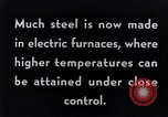 Image of Steelmaking with Electric Furnace United States USA, 1943, second 4 stock footage video 65675031506