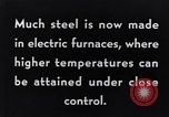 Image of Steelmaking with Electric Furnace United States USA, 1943, second 5 stock footage video 65675031506