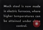 Image of Steelmaking with Electric Furnace United States USA, 1943, second 7 stock footage video 65675031506