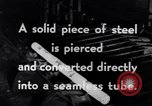 Image of production of seamless tubing United States USA, 1943, second 6 stock footage video 65675031515