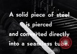 Image of production of seamless tubing United States USA, 1943, second 7 stock footage video 65675031515