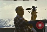 Image of Using sextant on oceanic survey vessel Pacific Ocean, 1963, second 7 stock footage video 65675031523