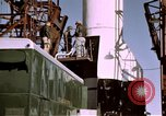 Image of V-2 rocket Alamogordo New Mexico USA, 1945, second 11 stock footage video 65675031547