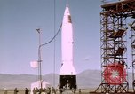 Image of V-2 rocket Alamogordo New Mexico USA, 1945, second 9 stock footage video 65675031548