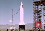 Image of V-2 rocket Alamogordo New Mexico USA, 1945, second 10 stock footage video 65675031548