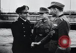 Image of German Army officers visit a Kriegsmarine base Germany, 1944, second 8 stock footage video 65675031600