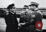 Image of German Army officers visit a Kriegsmarine base Germany, 1944, second 9 stock footage video 65675031600