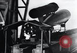 Image of acceleration testing V-1 missile Peenemunde Germany, 1943, second 9 stock footage video 65675031610
