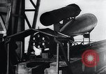 Image of acceleration testing V-1 missile Peenemunde Germany, 1943, second 10 stock footage video 65675031610