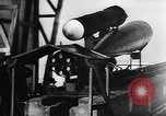 Image of acceleration testing V-1 missile Peenemunde Germany, 1943, second 12 stock footage video 65675031610