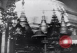 Image of Japanese architecture Burma, 1945, second 8 stock footage video 65675031639