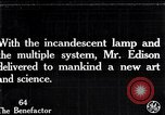 Image of incandescent lamp United States USA, 1923, second 1 stock footage video 65675031662
