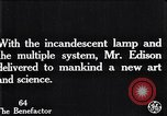 Image of incandescent lamp United States USA, 1923, second 3 stock footage video 65675031662