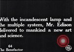Image of incandescent lamp United States USA, 1923, second 5 stock footage video 65675031662