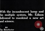 Image of incandescent lamp United States USA, 1923, second 7 stock footage video 65675031662