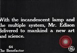 Image of incandescent lamp United States USA, 1923, second 9 stock footage video 65675031662