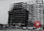 Image of construction Wiesbaden Germany, 1954, second 10 stock footage video 65675031779