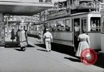 Image of German people Frankfurt Germany, 1954, second 9 stock footage video 65675031780