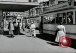 Image of German people Frankfurt Germany, 1954, second 10 stock footage video 65675031780