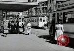 Image of German people Frankfurt Germany, 1954, second 11 stock footage video 65675031780