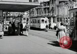 Image of German people Frankfurt Germany, 1954, second 12 stock footage video 65675031780
