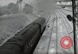 Image of German steam locomotive Wiesbaden Germany, 1954, second 12 stock footage video 65675031782