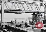 Image of construction of bridge Wiesbaden Germany, 1954, second 6 stock footage video 65675031784