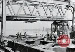 Image of construction of bridge Wiesbaden Germany, 1954, second 9 stock footage video 65675031784