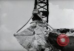 Image of construction of bridge Wiesbaden Germany, 1954, second 3 stock footage video 65675031785