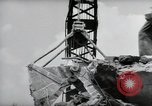 Image of construction of bridge Wiesbaden Germany, 1954, second 4 stock footage video 65675031785