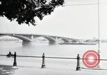 Image of bridge Mainz Germany, 1954, second 1 stock footage video 65675031786