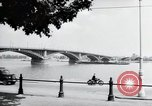 Image of bridge Mainz Germany, 1954, second 3 stock footage video 65675031786