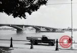 Image of bridge Mainz Germany, 1954, second 4 stock footage video 65675031786