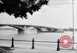 Image of bridge Mainz Germany, 1954, second 5 stock footage video 65675031786