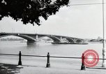 Image of bridge Mainz Germany, 1954, second 6 stock footage video 65675031786