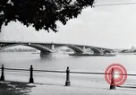 Image of bridge Mainz Germany, 1954, second 7 stock footage video 65675031786